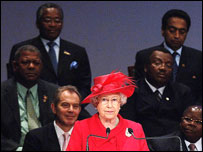 Queen Elizabeth II and Commonwealth leaders