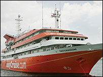 Picture of easyCruiseOne, courtesy of easyCruise