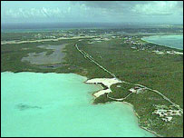Aerial view, Turks and Caicos Islands