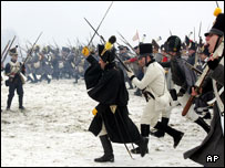 Battle of Austerlitz recreation