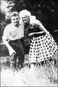 Ian Brady and Myra Hindley in an early snapshot