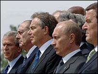 G8 leaders at Gleneagles