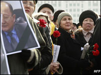 Protests after death of opposition figure Altynbek Sarsenbayev