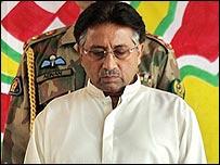 Pakistan's President Pervez Musharraf