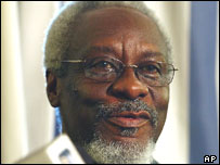PJ Patterson, former Jamaican PM