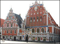Blackheads building, Riga