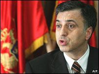 President Filip Vujanovic