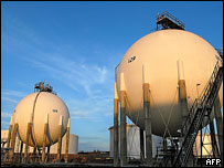 Paraguana oil refinery complex, Venezuela