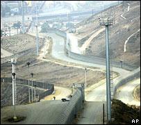 Mexico-US border, near Tijuana