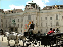 Vienna, horse-drawn carriage