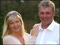 Heather and Darren Clarke