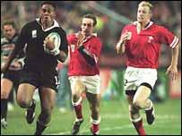 Wales v New Zealand 1995