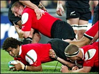 Wales had a mini-revival against New Zealand in 2003