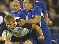 Kort Schubert in action for the Eagles