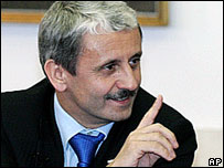 Mikula Dzurinda, prime minister from 1998-2006