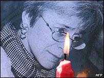 Slain reporter Anna Politkovskaya
