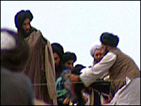 A photograph of Mullah Mohammad Omar taken in 2001
