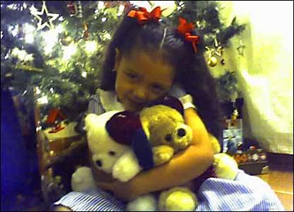Foto de la pequeña Sophia