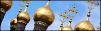 Domes and crosses at the Kremlin