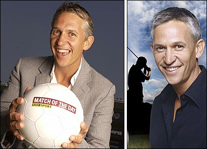 BBC Sport presenter Gary Lineker
