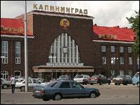 Railway station, Kaliningrad