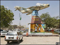 Monument to those who fought in Somaliland secessionist war, Hargeisa