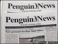 Front cover of Penguin News