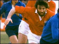 Ray Gravell in his playing days