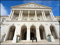 Portuguese parliament