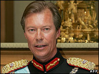 Luxembourg's Grand Duke Henri (2007 picture)