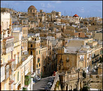 Valletta - general view
