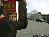 Da Vinci Code at the Louvre, Paris