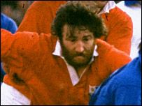 Ray Gravell won 23 caps for Wales and four for the Lions