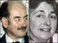 Richard a Helen Thomas
