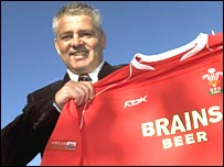 New Wales coach Warren Gatland
