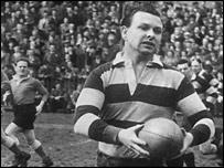 Former Wales captain Bleddyn Williams