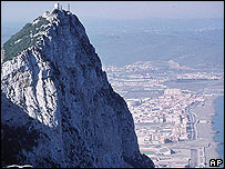 Summit of Rock of Gibraltar