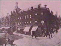 Leuchters Restaurant, Bradford, where the Barbarians were formed