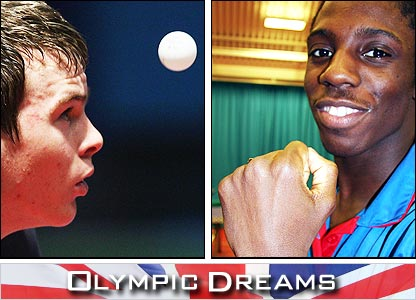 GB's table tennis stars are being followed by Olympic Dreams