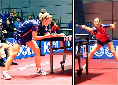GB's Emma Vickers in action