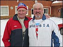 Eduard Sevastyanov (left) and Vladimir Chudinov