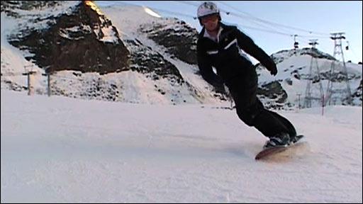 Zoe Gillings' snowboard masterclass