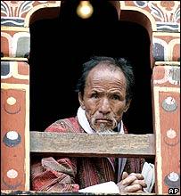 Bhutanese man, Thimpu
