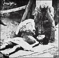 Boy victim of 1915 deportation of Armenians