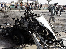 Bombing in Baghdad in March