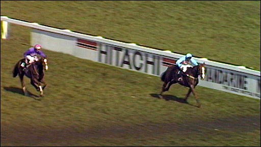 Corbiere wins the 1983 Grand National