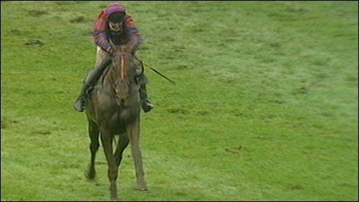 Red Marauder wins the 2001 Grand National