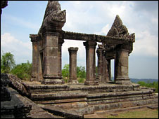One of the entrance buildings at Preah Vihear