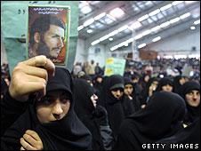 Student demos in Iran