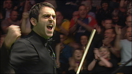 Watch Ronnie O'Sullivan's brilliant 147